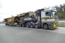 Seeland MB 4160 MP 3 Nr 47 mit Junttan PM 26 Rammentransport